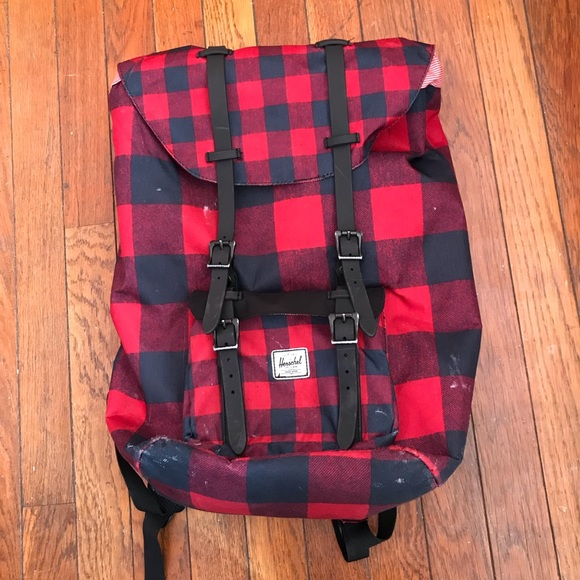 03ee65a1cce Herschel Supply Company Bags   Plaid Herschel Backpack   Poshmark